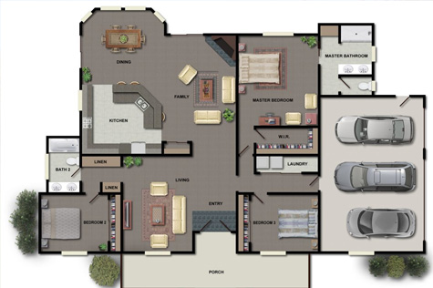 Floor Plans Embassy Apartments